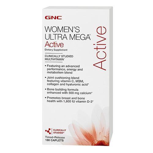 Витамины для Женщин GNC Womens Ultra Mega Active  90 cap