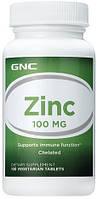 ZMA - Цинк, Магний, Витамин В6 GNC Zinc 100  100 tabl