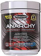 ПРЕДТРЕНИРОВОЧНЫЕ КОМПЛЕКСЫ MuscleTech Anarchy  152 g icy rocket freeze