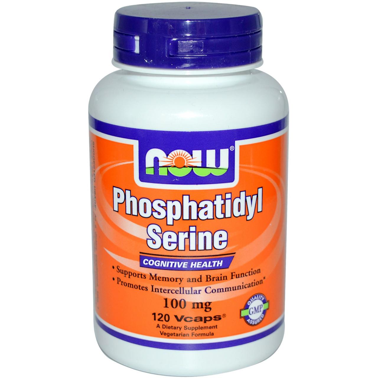 Специальные препараты NOW Phosphatidyl Serine 100 mg  30 caps