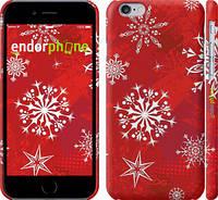"Чехол на iPhone 6 Снежинка 2 ""3312c-45"""