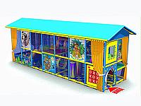 Уличный игровой лабиринт «Следопыт»