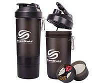 Шейкеры смарт SmartShake SmartShake Original NEON Black  800 ml
