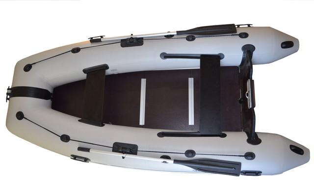 Килевая надувная лодка пвх OMega 330 KU