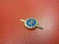 Украшение круглое №013029 золото+синий