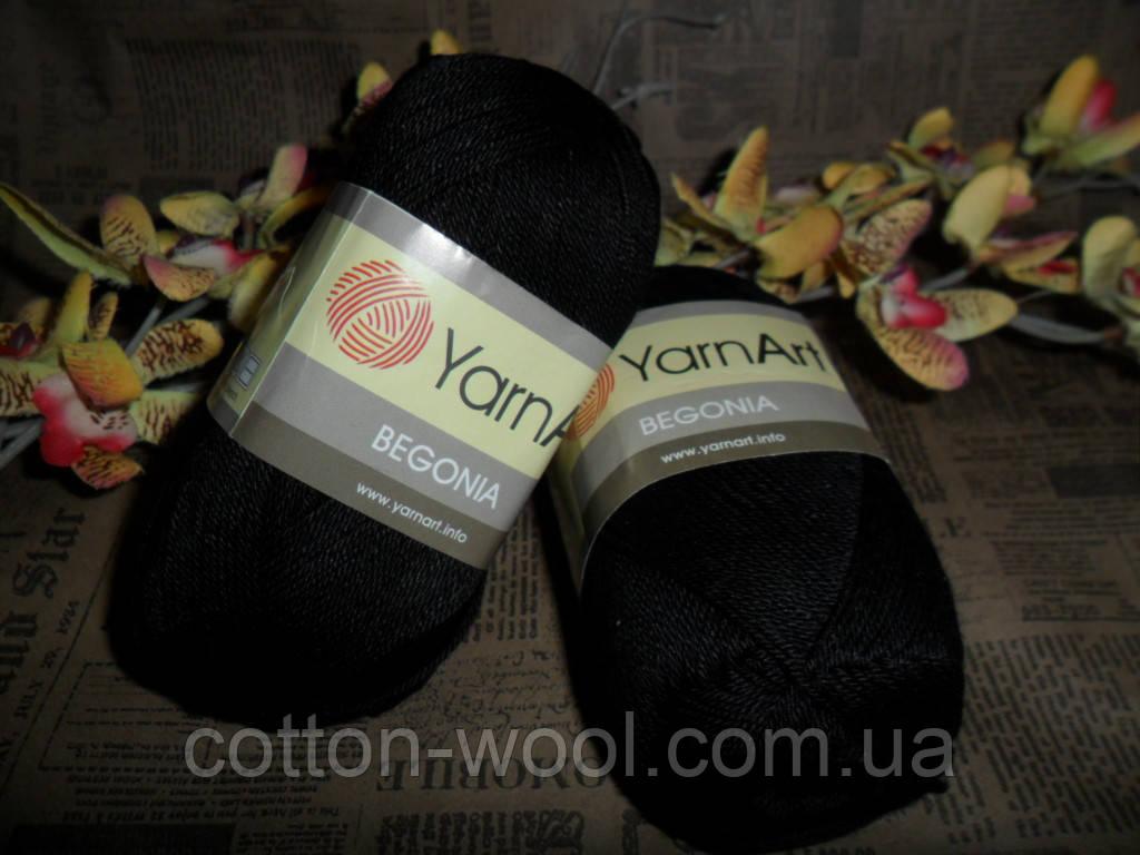 Yarnart Begonia (Ярнарт Бегония) 999 черный