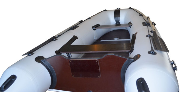 Лодка килевая под мотор Омега 330 KU с усиленным транцем