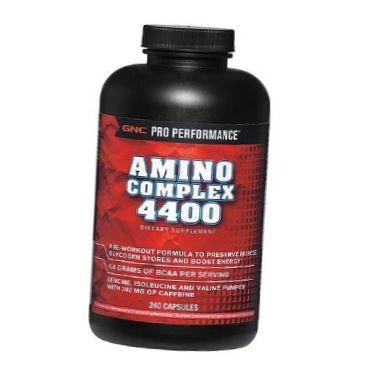 Аминокислотные комплексы GNC AMINO COMPLEX 4000 240 caps