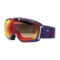 Горнолыжная маска Giro Basis, красный, белый, синий/графика/красный 40 (GT)