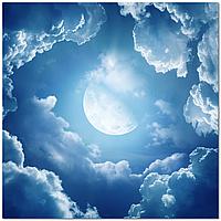 Подвесной потолок - Акриловый потолок Небо Луна