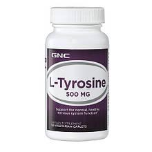 Аминокислоты отдельные GNC L-TYROSINE 500 60 tab