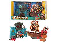 Игровой набор Keenway Приключения пиратов Битва за остров