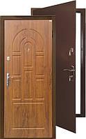 Входные двери Титан-Элит  (Медь+МДФ мат) 860 на 2050 мм