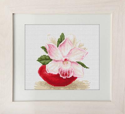 """Набор для вышивания нитками  """"Орхидея"""", фото 2"""