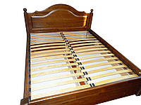 Кровать двуспальная деревянная Миша