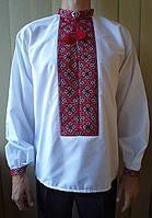 Вышиванка мужская, вышивка ручной работы. , фото 1