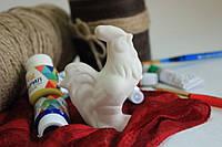 Петушок - керамическая игрушка для творчества.