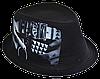 Шляпа челентанка фотопринт х/б Fuck
