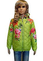 Куртка пионы, фото 3