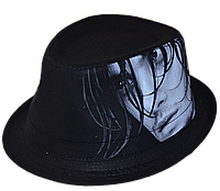 Шляпа челентанка фотопринт х/б красавчик