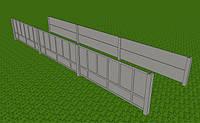 Забор наборной