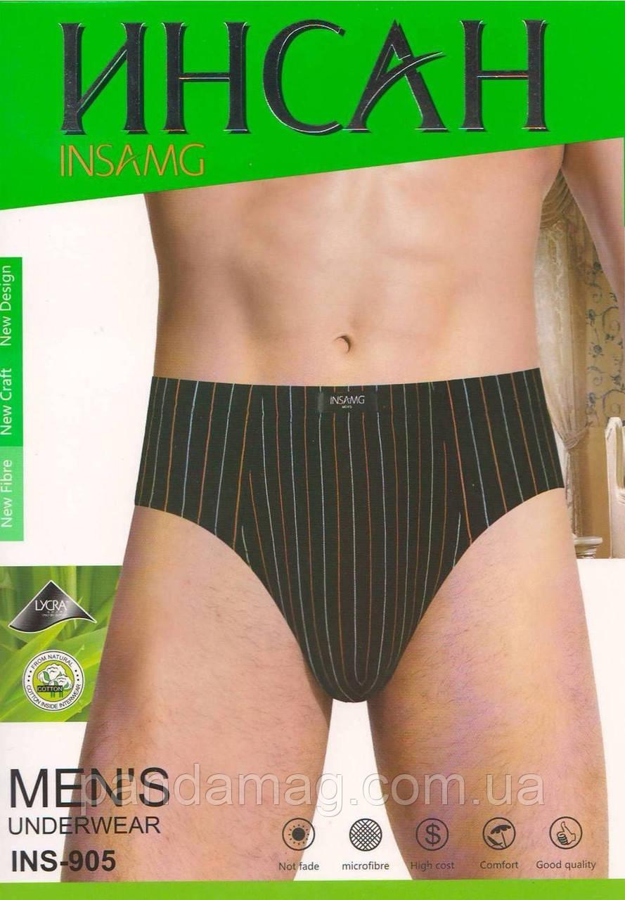 Трусы(плавки) мужские Инсан - 45грн. Упаковка 3шт - p.L