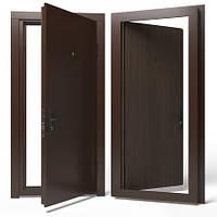 Дверь APECSм Ма/ДСП 850 Л/Пр орех