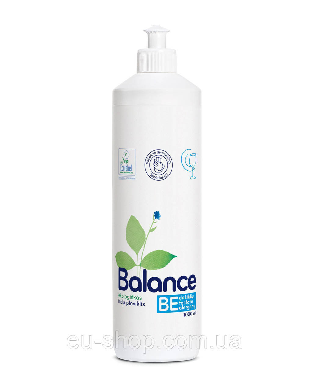 Средство для мытья посуды Balance 1 л, фото 1