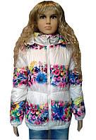 Стильная куртка  для девочки 7-15 лет