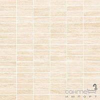 Керамогранит Cisa Ceramiche Плитка для пола керамогранит мозаика Cisa MY WOOD WHITE MOSAICO 0800805