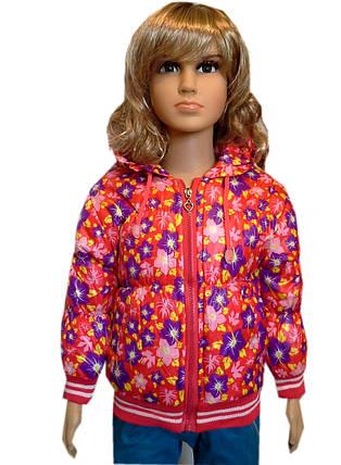 Куртка на манжете цветочки, фото 2