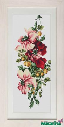 """Набор для вышивания нитками  """"Цветы"""", фото 2"""