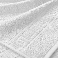 Махровые полотенца с бордюром 50х90; плотность: 400 г/м²