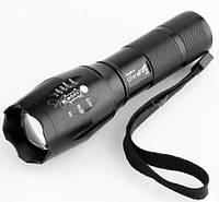 Фонарик Cree XM-L T6 LED комплект аккумулятор зарядное #100191, фото 1