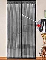 Москитная сетка на магнитах Magic Mash - средство от комаров, фото 1