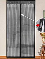 Москитная сетка на магнитах Magic Mash - средство от комаров