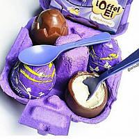 Шоколадный набор Milka Loffel Ei из Германии, фото 1