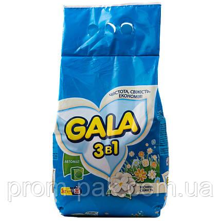 Gala пральний порош авт 4 кг для кольорових речей Морська свіжість, фото 2