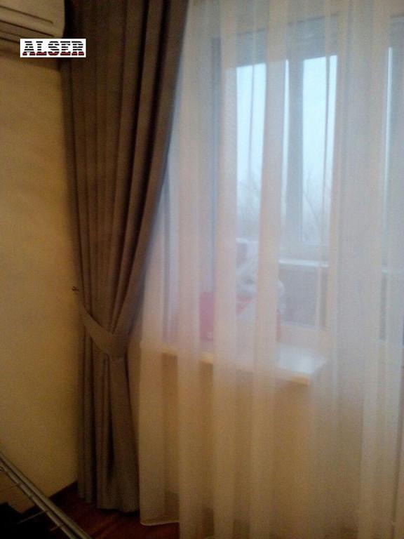 Дизайнерские шторы, шторы на тесьме. Тюль и портьеры с подхватом.