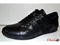 Туфли мужские полуспорт кожа натуральная Украина Uk0218