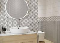 Керамическая плитка для ванных комнат BLACK AND WHITE от Opoczno