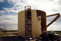 Гидроизоляция полимочевиной резервуаров