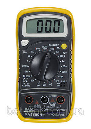 Мультиметр 830-L MAS