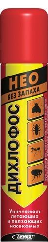 Дихлофос NEO 200мл от летающих и ползающих насекомых
