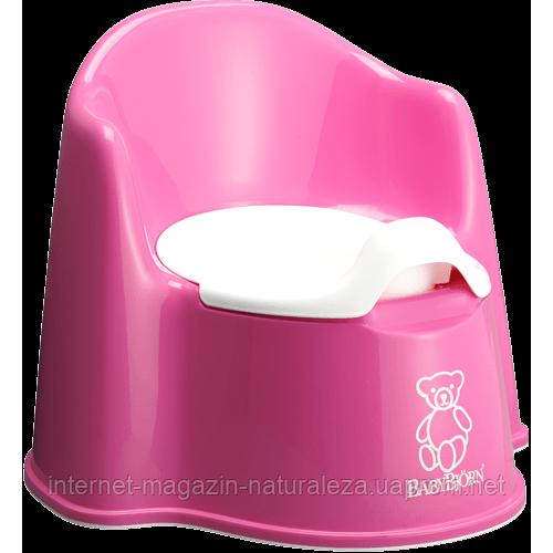 Горшок для детей BabyBjorn розовый