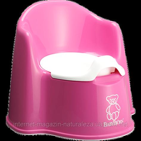 Горшок для детей BabyBjorn розовый, фото 2