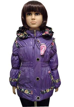 Куртка с оборочкой, фото 2