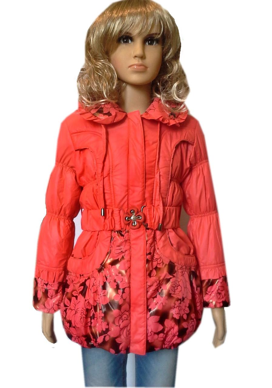 Куртка удлиненная роза