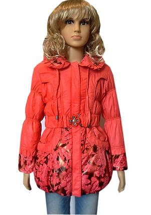 Куртка удлиненная роза, фото 2