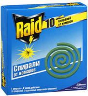 Спирали Raid от комаров (10шт) , фото 1